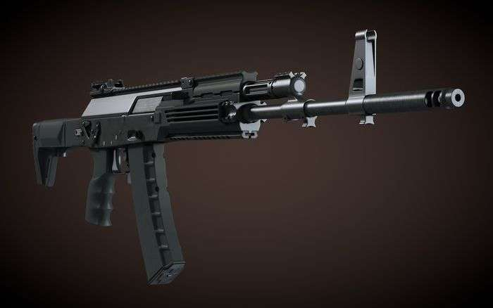 АК-12 - новий автомат Калашникова (13 фото)