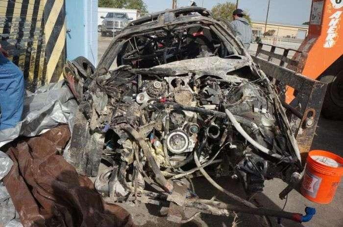 Аварія на швидкості 354 км/год (33 фото + відео)