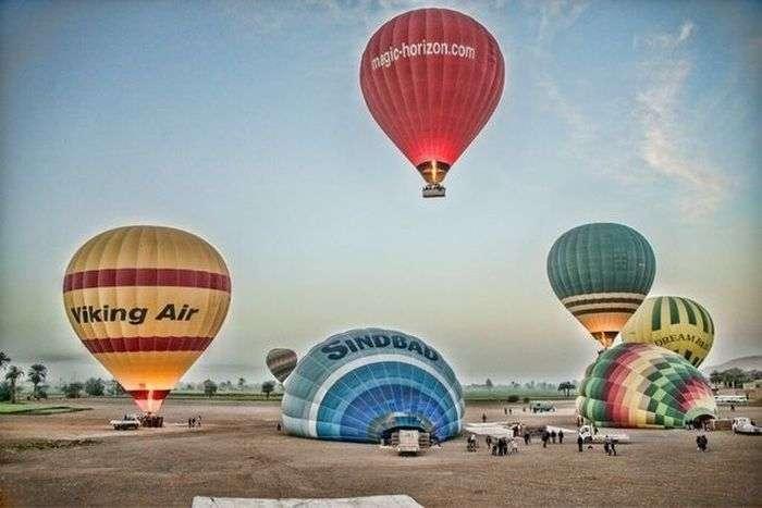 Політ на повітряній кулі став смертельним для туристів (8 фото)