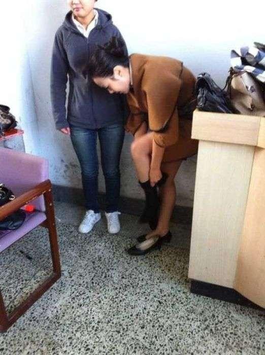 Кастинг стюардес у Китаї (24 фото)