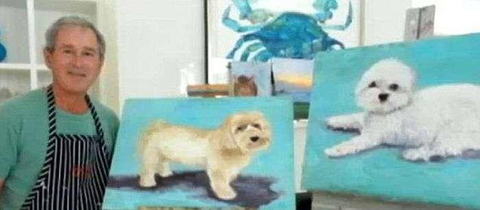 Загадка дня. Хто намалював ці картини? (7 фото)
