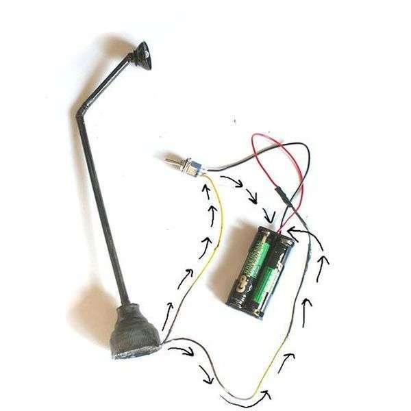 Мініатюрний вуличний ліхтар: інструкція по створенню (33 фото)