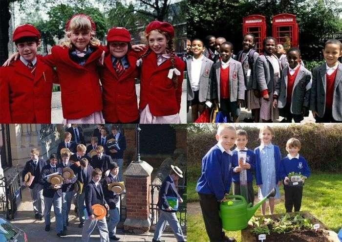 Шкільна форма різних народів світу (16 фото)