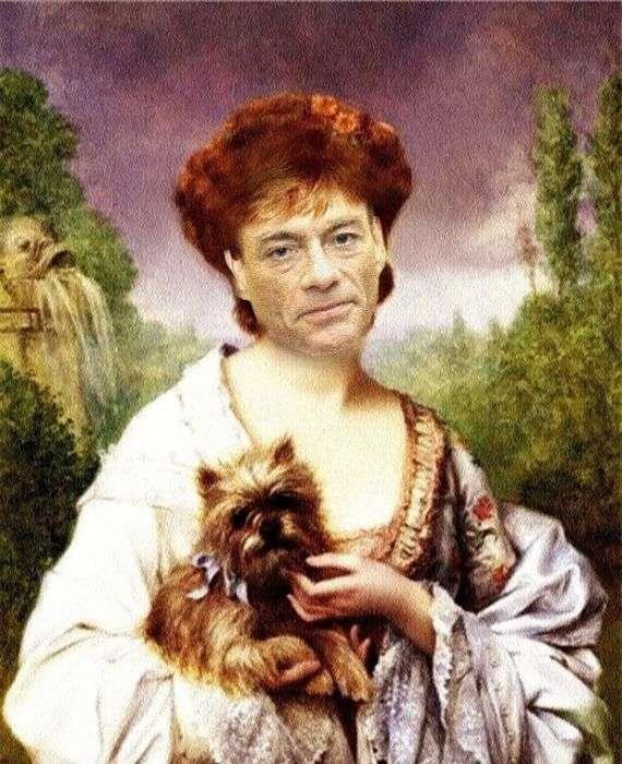 Смішні схрещування російських і зарубіжних знаменитостей (49 фото)
