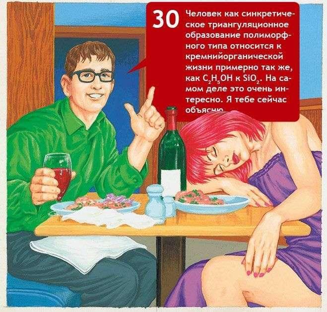 40 найбільш невдалих фраз в спілкуванні з дівчиною (6 фото + текст)