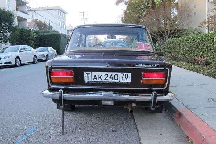 ВАЗ 2103 продається в Сан-Франциско (16 фото)
