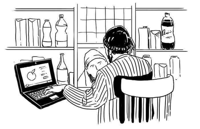 Як все влаштовано: Продавець у кіоску (3 фото + текст)