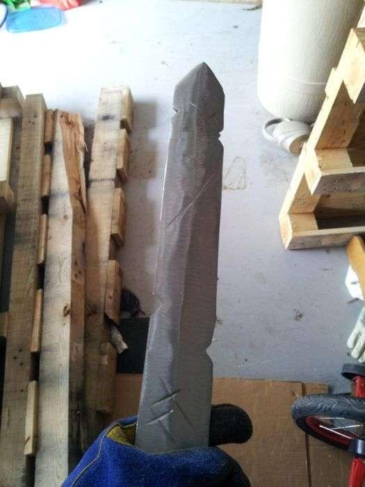 Золотий меч Фінна з Час пригод своїми руками (32 фото)