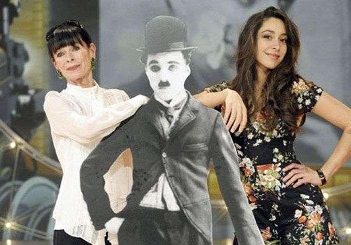 Уна Чаплін - внучка знаменитого коміка Чарлі Чапліна (20 фото)