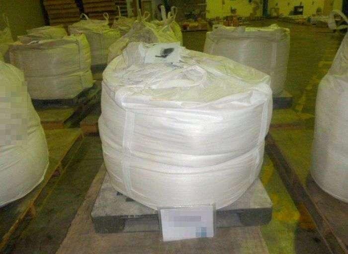585 кг метамфетаміну замість чистячих засобів (7 фото)