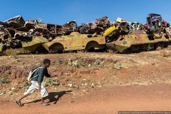 Памятник війни Еритреї з Ефіопією (36 фото)