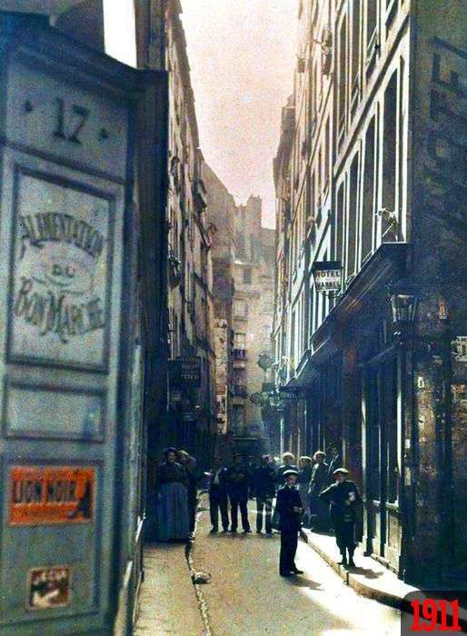 Порівняння Парижа на початку XX століття і в наші дні (20 фото)