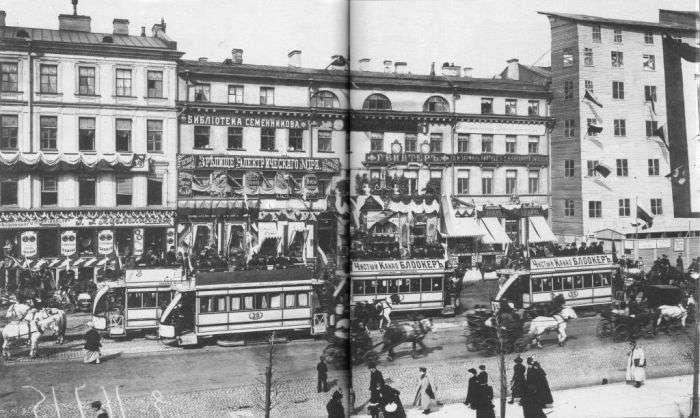 Як пересувався Санкт-Петербург на початку 20 століття (20 фото)