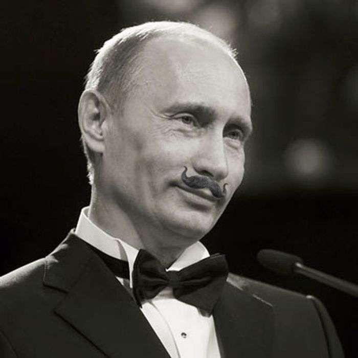 Незвичайний сайт фанатів Путіна з вусами (43 фото)