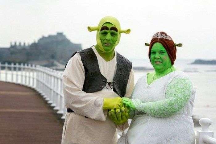 Незвичайна весілля Шрека і Фіони (17 фото)
