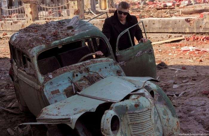Сталінград часів війни - дуже реалістичні декорації (20 фото)