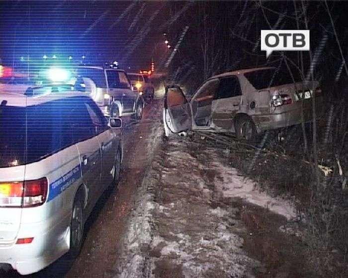Повія розбила машину свого клієнта (3 фото + відео)