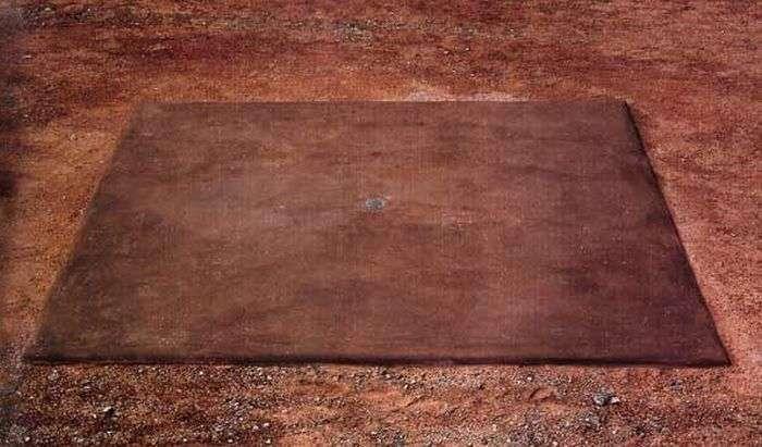 Унікальна робота Уолтера Де Марія Вертикальний кілометр (6 фото)