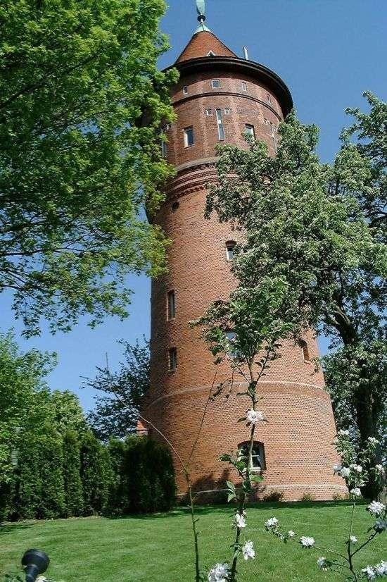 Шикарний приватний будинок зі старої водонапірної башти (17 фото)